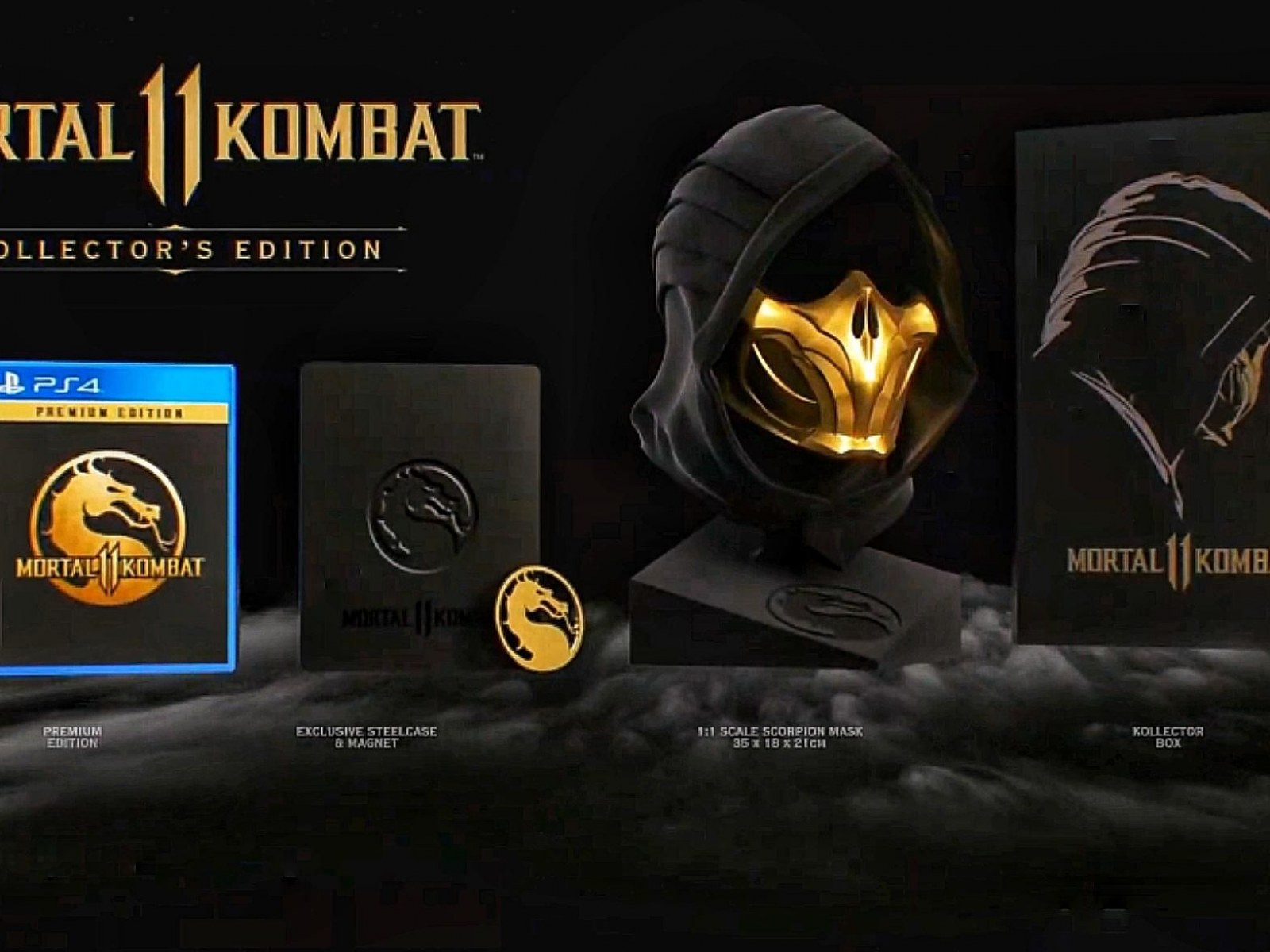 Mortal Kombat 11 Standard Premium And Kollector S Edition