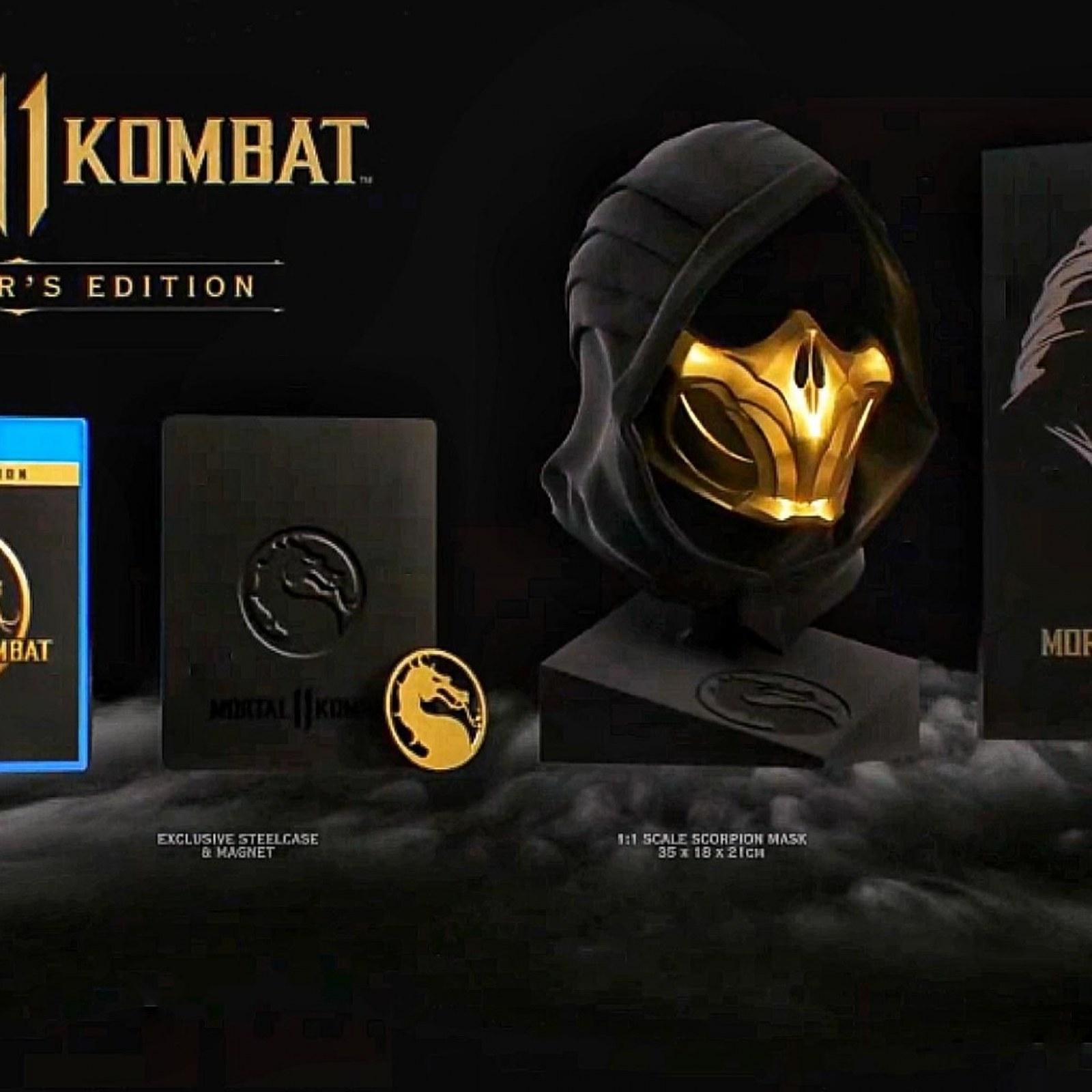 Mortal Kombat 11' Standard, Premium and Kollector's Edition