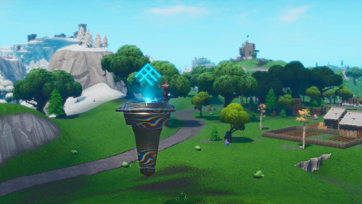 fortnite rune event loot lake