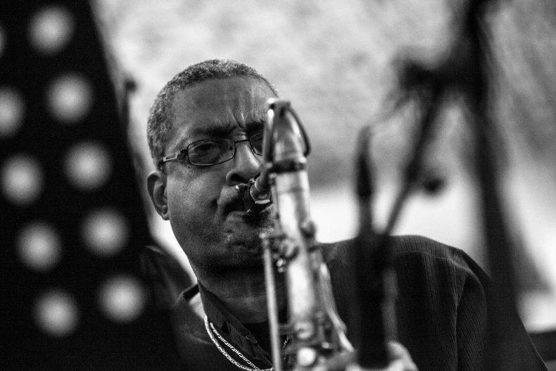 Breno Brown on sax
