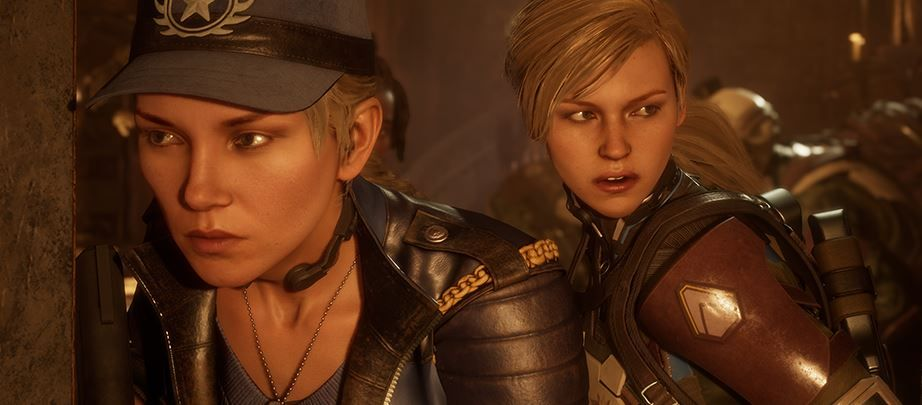 mortal kombat 11 story sonya blade and cassie cage