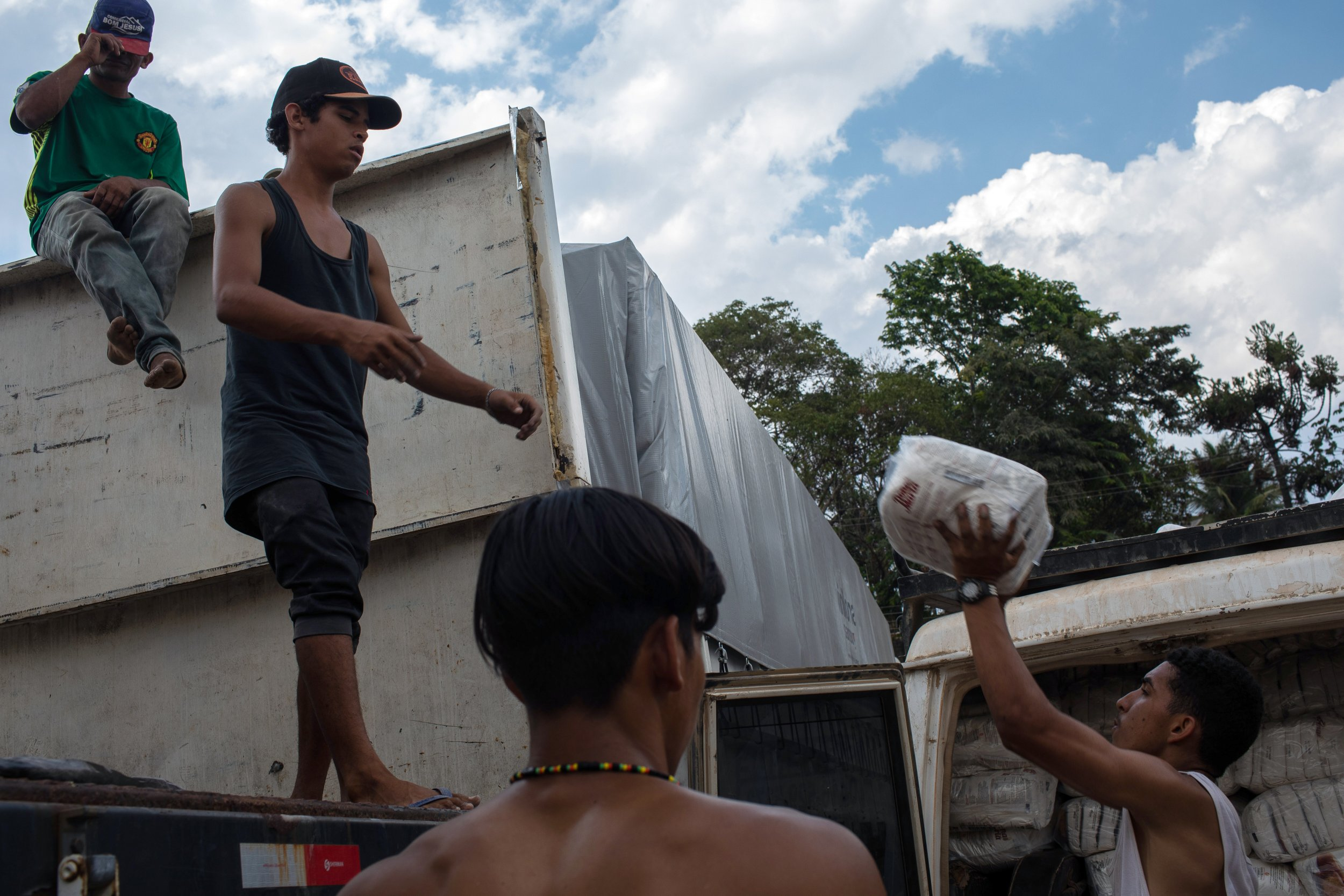 Venezuelans seek refuge in Brazil