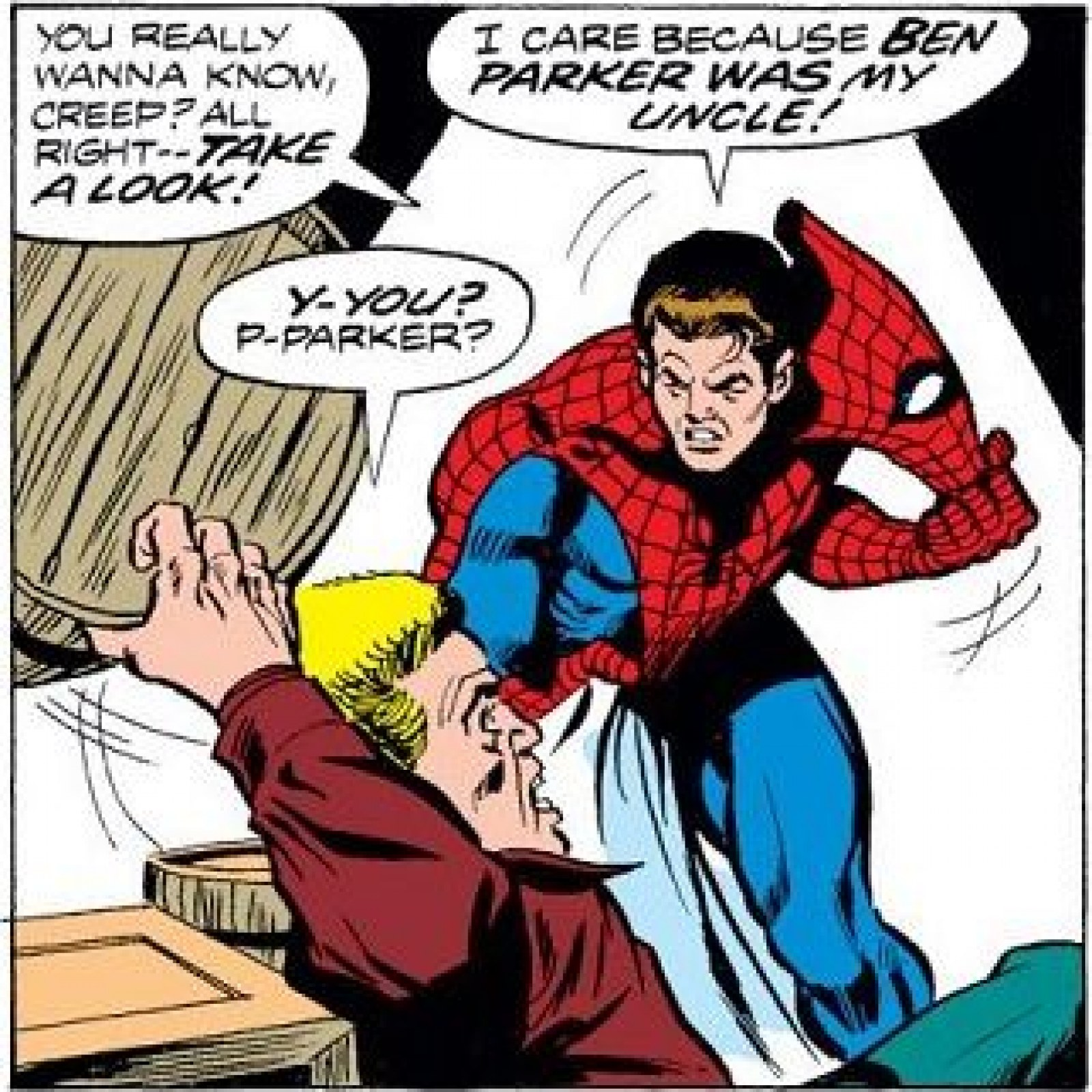 Peter Parker Identity Revealed Fanfiction Avengers