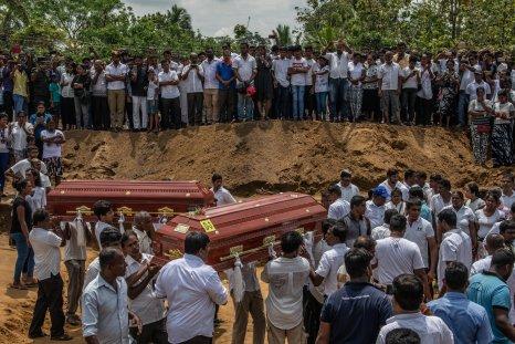 Sri Lanka bombing victims
