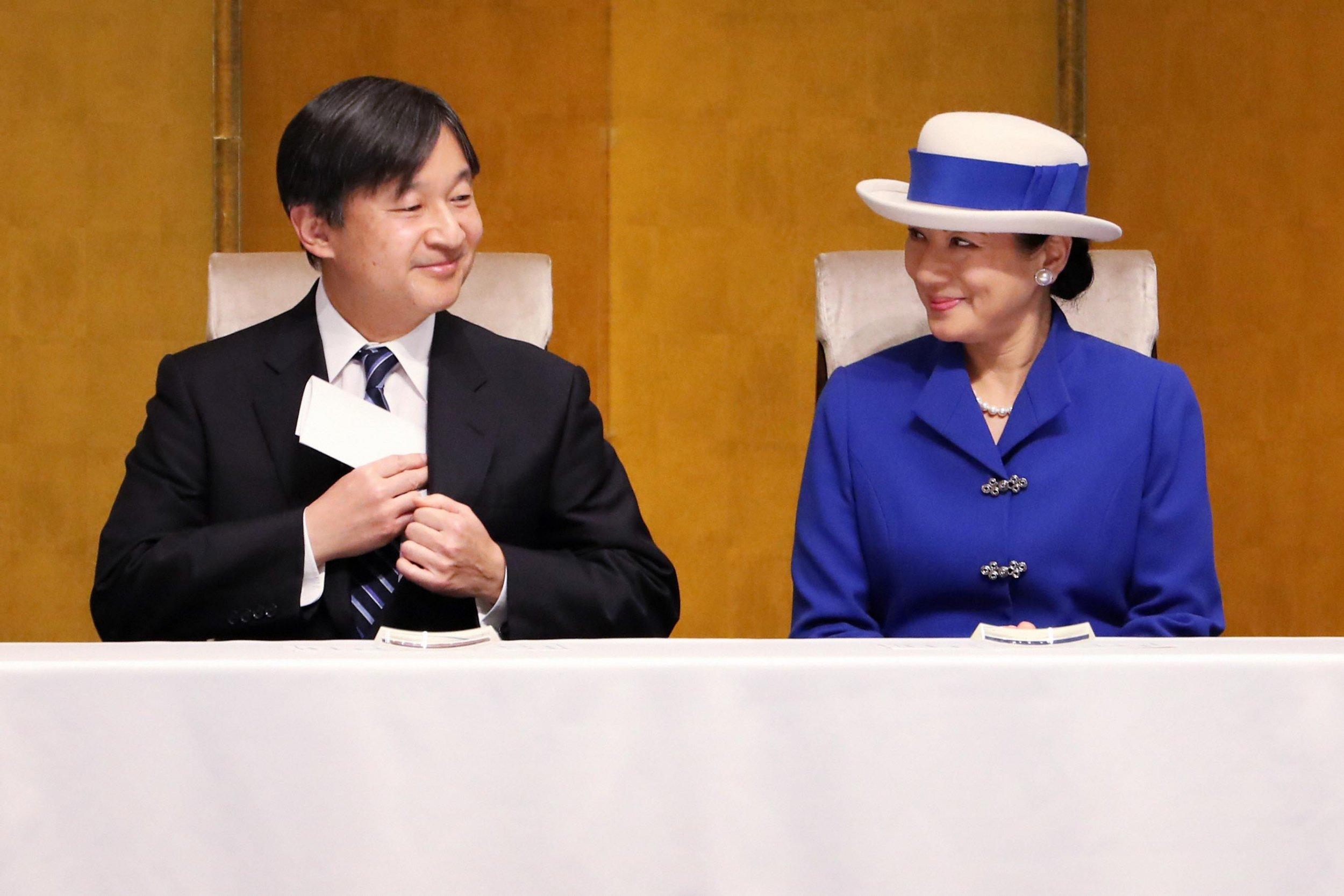 Crown Prince Naruhito, Crown Princess Masako