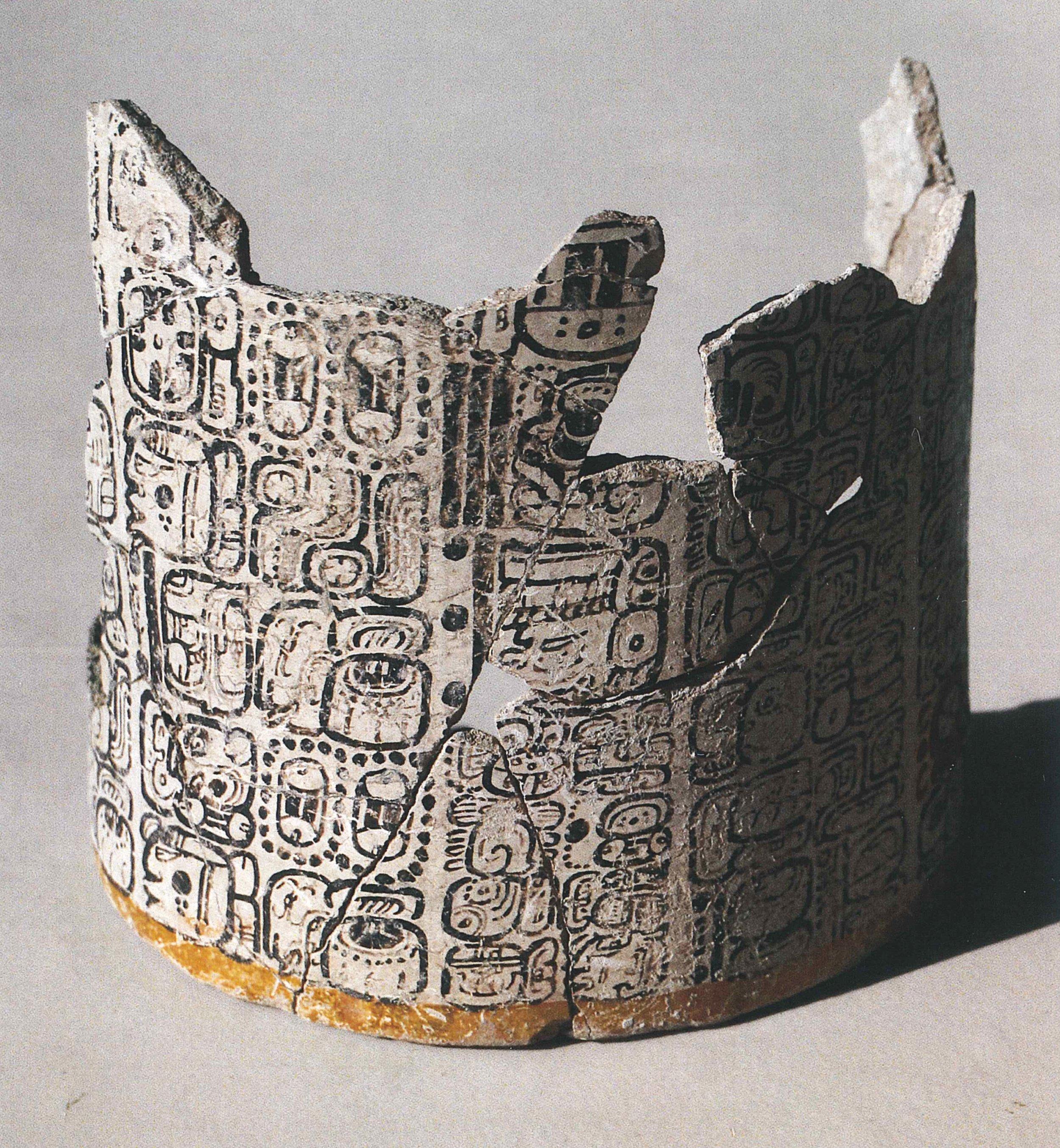 Maya vase 2