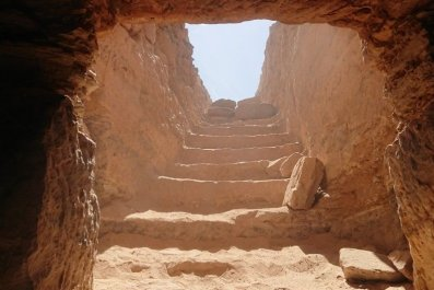 Tomb stairs, Ancient Egypt
