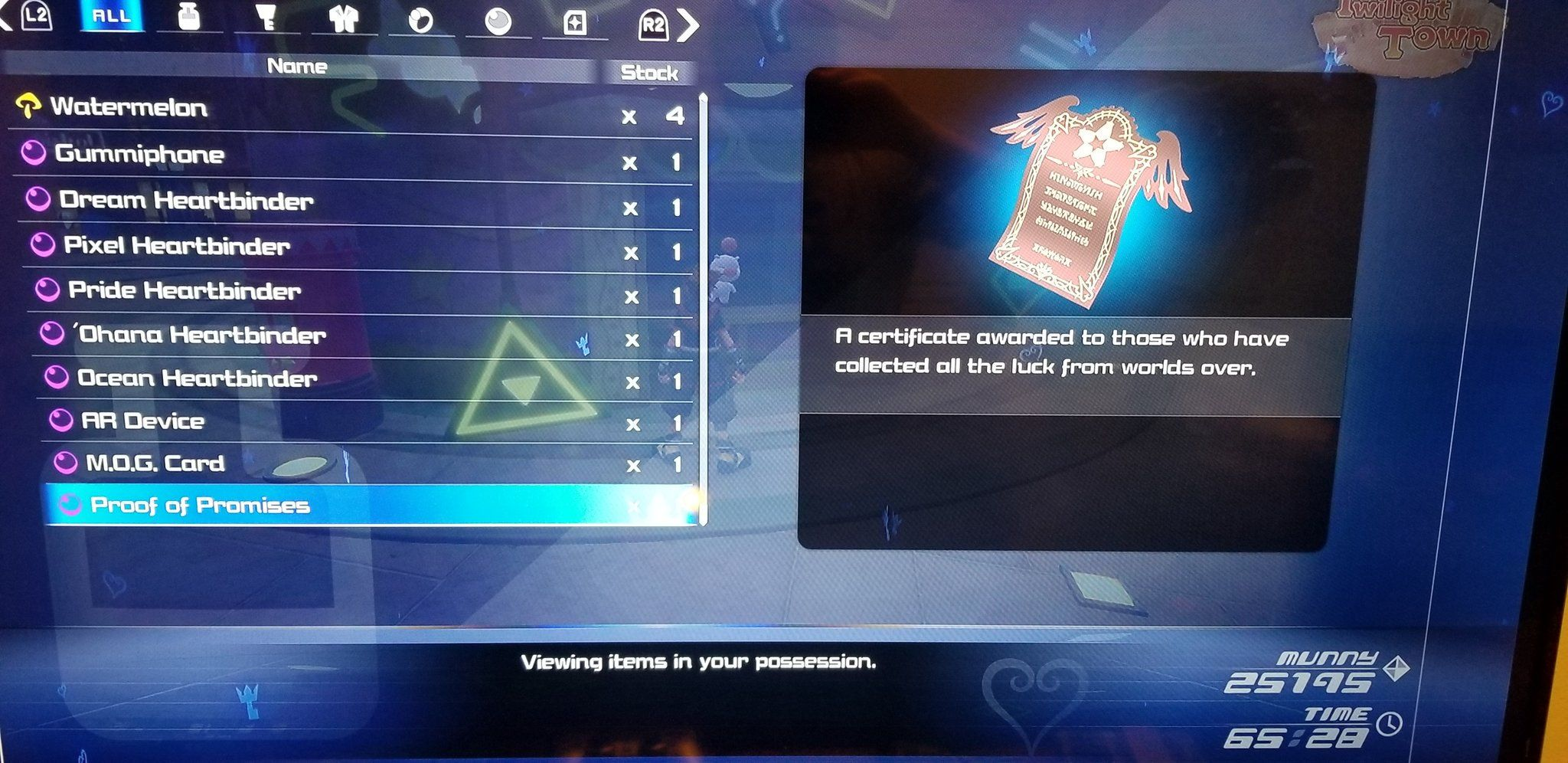 Kingdom Hearts 3 proof of promises