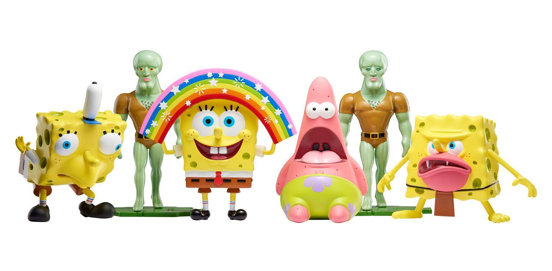 Spongebob meme toys nickelodeon figures where to buy