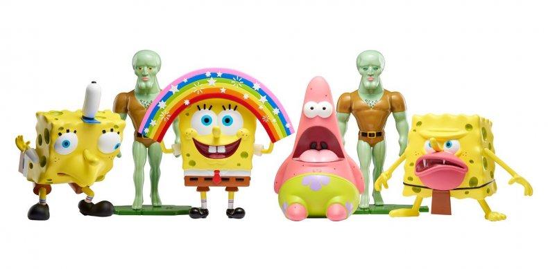 Spongebob, meme, toys, nickelodeon, figures, where, to, buy, mocking, spongebob, toy, Amazon, squarepants, masterpiece, memes