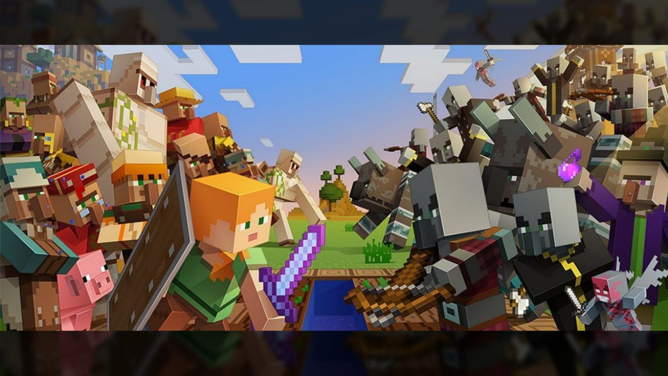 Minecraft, update, 1, 1, 4, patch, notes, village, pillage, smithing, table, blast, furnace, fletching, blocks, bamboo