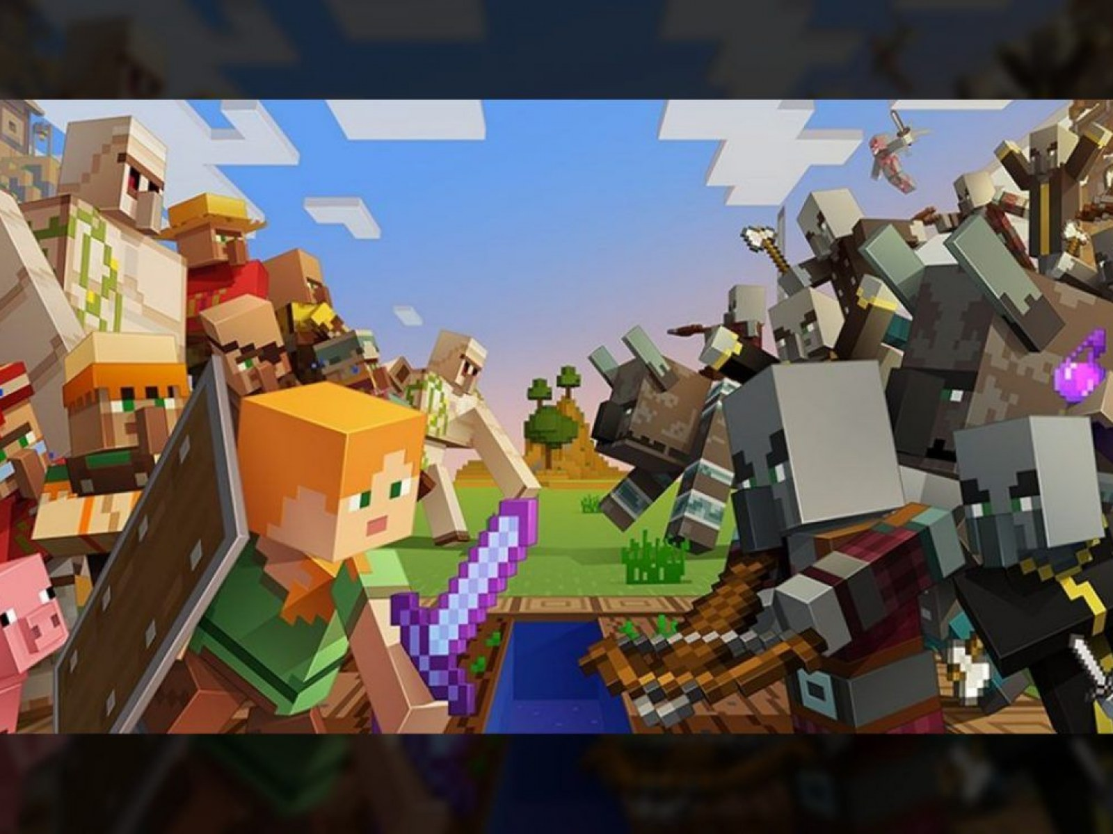 Minecraft Village And Pillage Update 1 14 Brings New Smithing Table