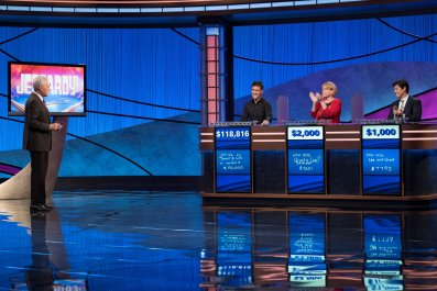 James Holzhauer on 'Jeopardy!'