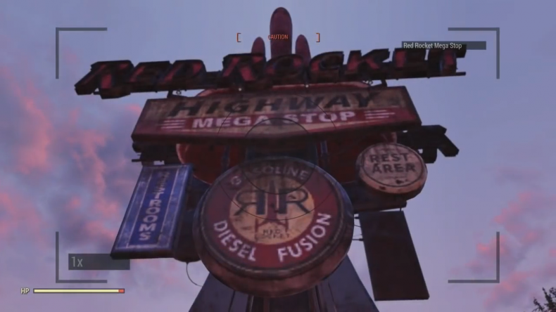 fallout 76 red rocket