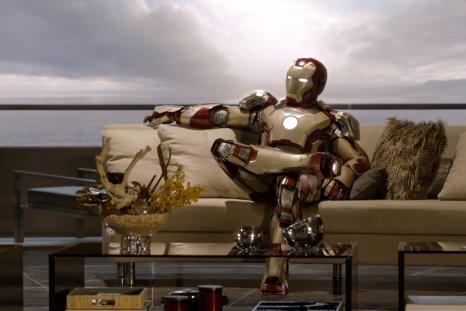 iron man sitting