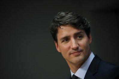 Justin Trudeau Tucker Carlson Philippines trash garbage