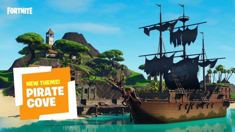fortnite pirate prefabs