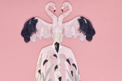 flamingo metropolitan museum of art costume institute camp