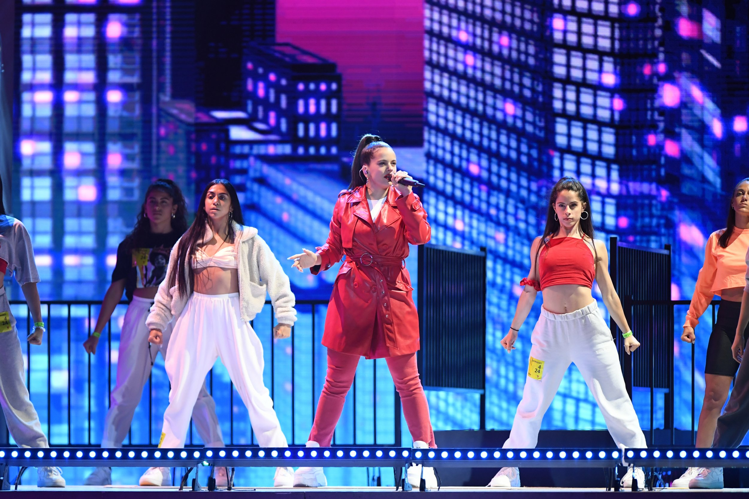 Rosalia at 2019 Latin Billboard Awards