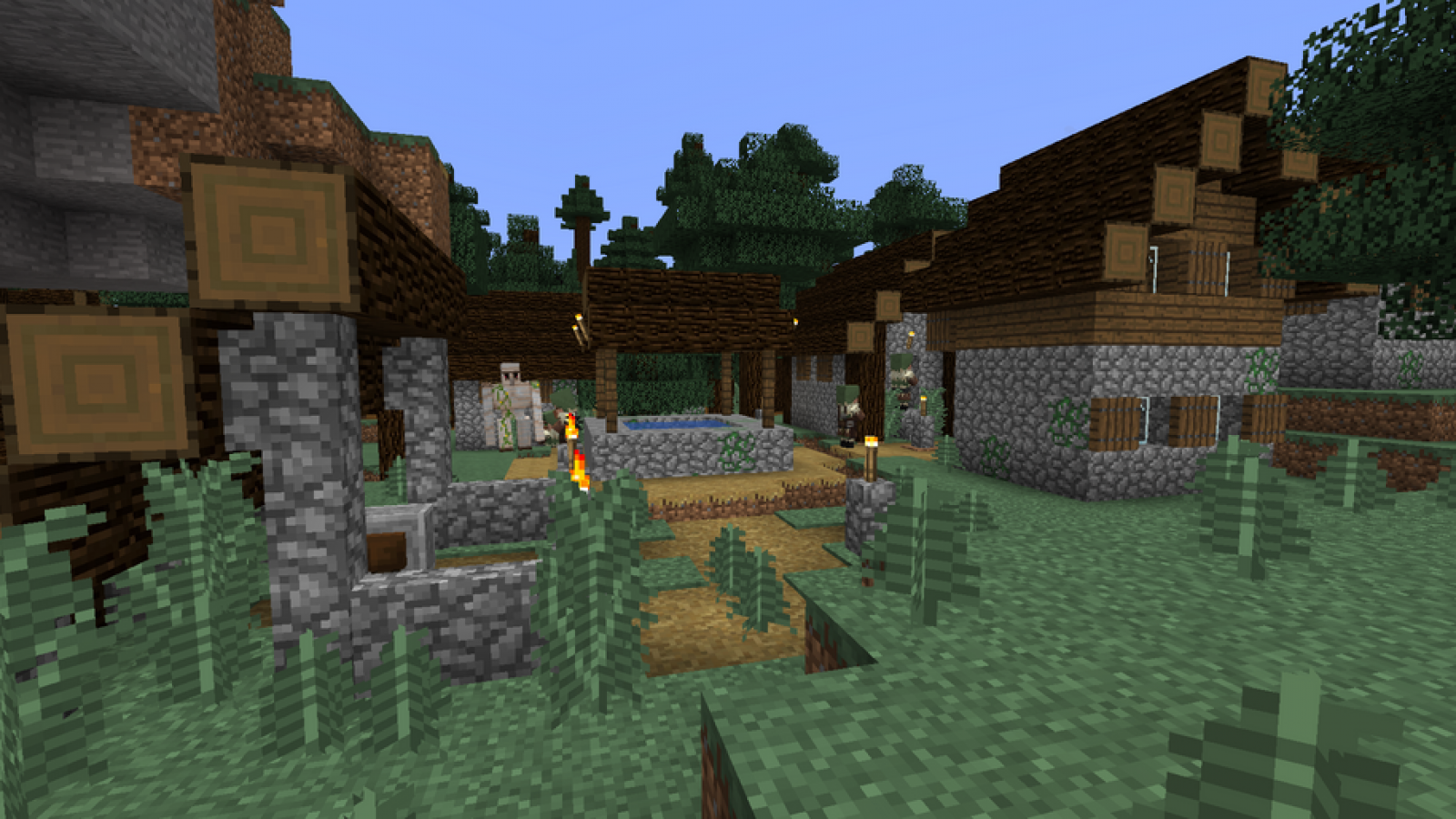 Best Minecraft 114 Seeds 7 New Village And Pillage Seeds