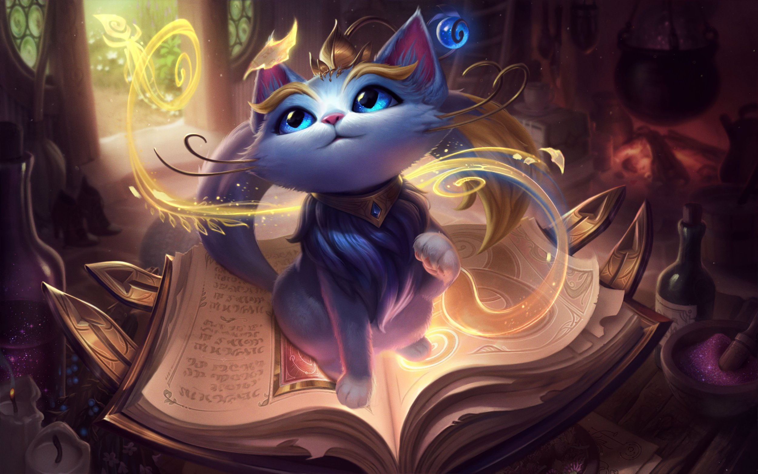 yuumi, champion, reveal, cat, ability, kit, league, of, legends,