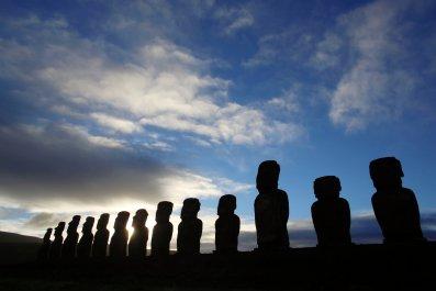 Moai, Easter Island, Rapa Nui