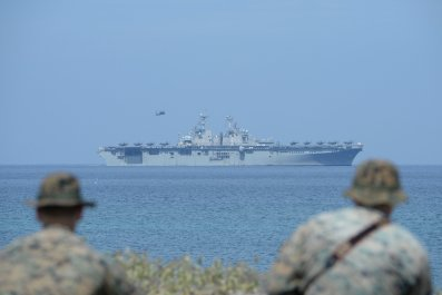 US military spending China arms race
