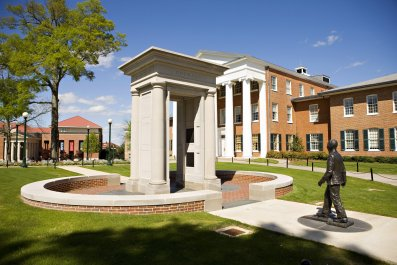 University of Mississippi campus