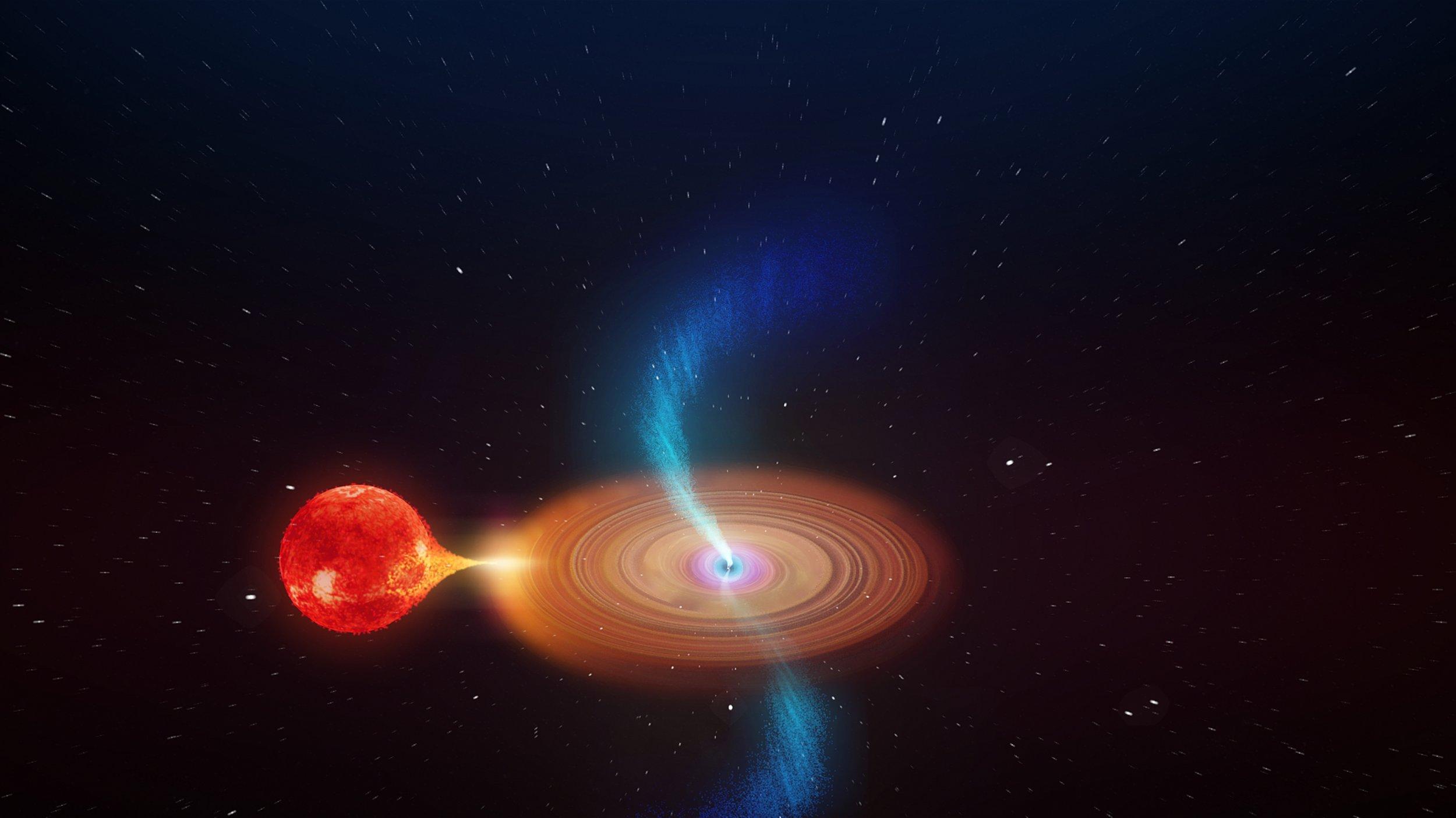Black hole, V404 Cygni
