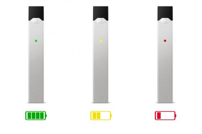 Why Won't Juul Pod Hit Battery Life Lights Colors