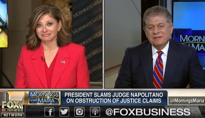 judge andrew napolitano responds