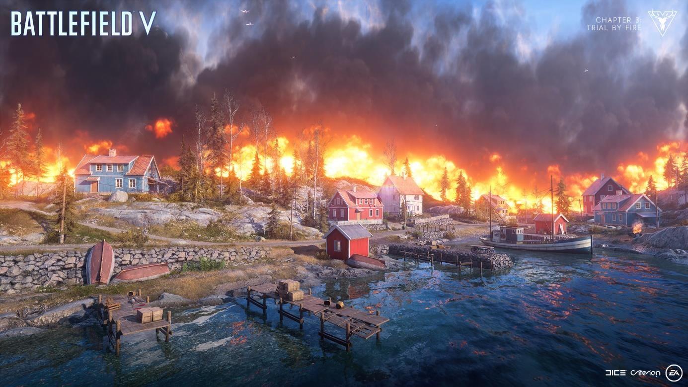 Battlefield 5' Update 1 15 Tweaks Firestorm Vehicles & Revives