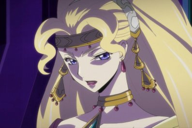 shamna code geass Lelouch of the resurrection movie exclusive clip