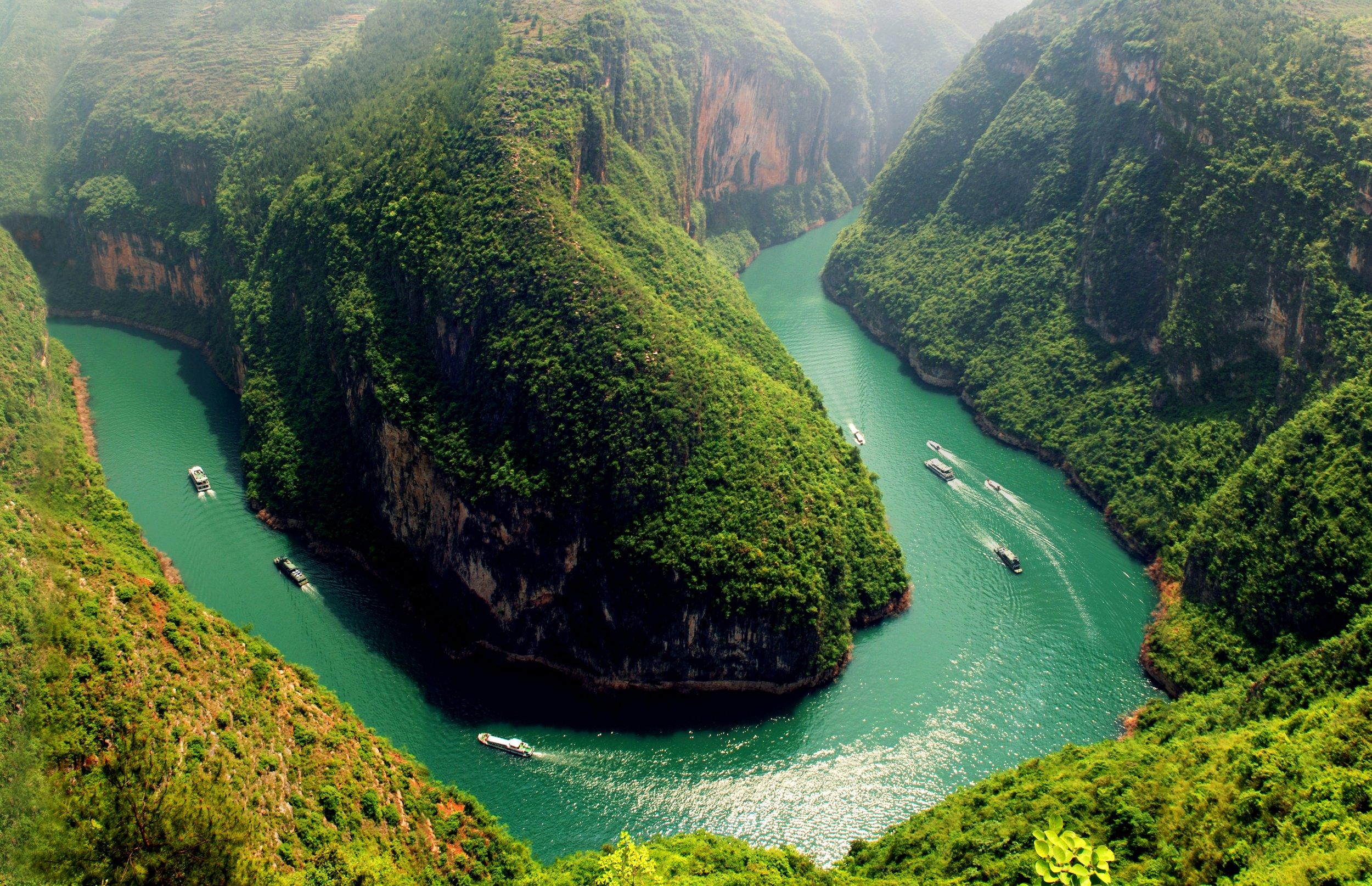 Sanctuary Yangtze River cruise in China