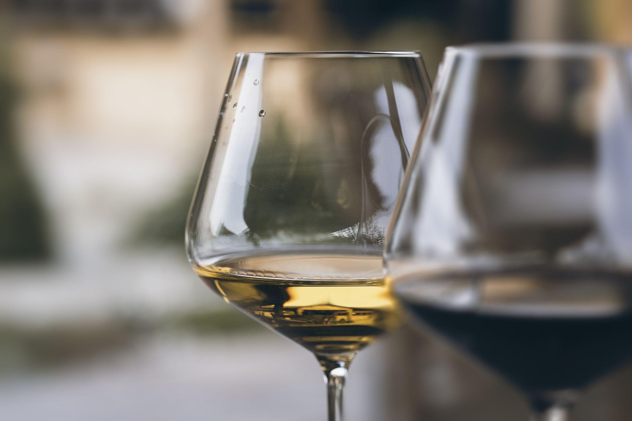 Riesling Wine.