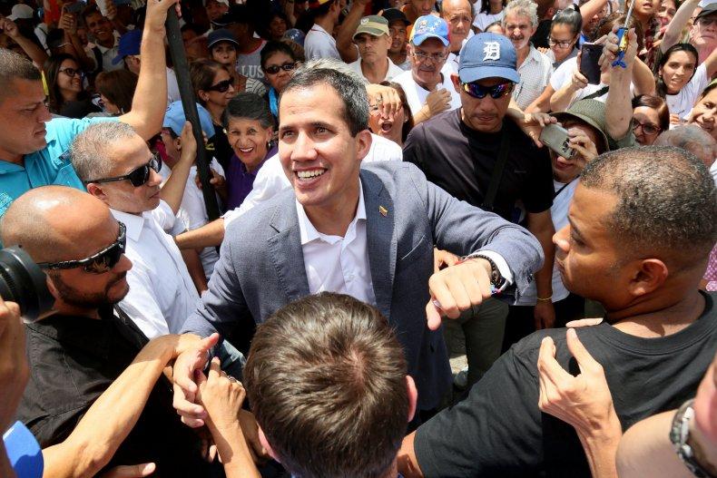 Venezuela coup juan Guaidó