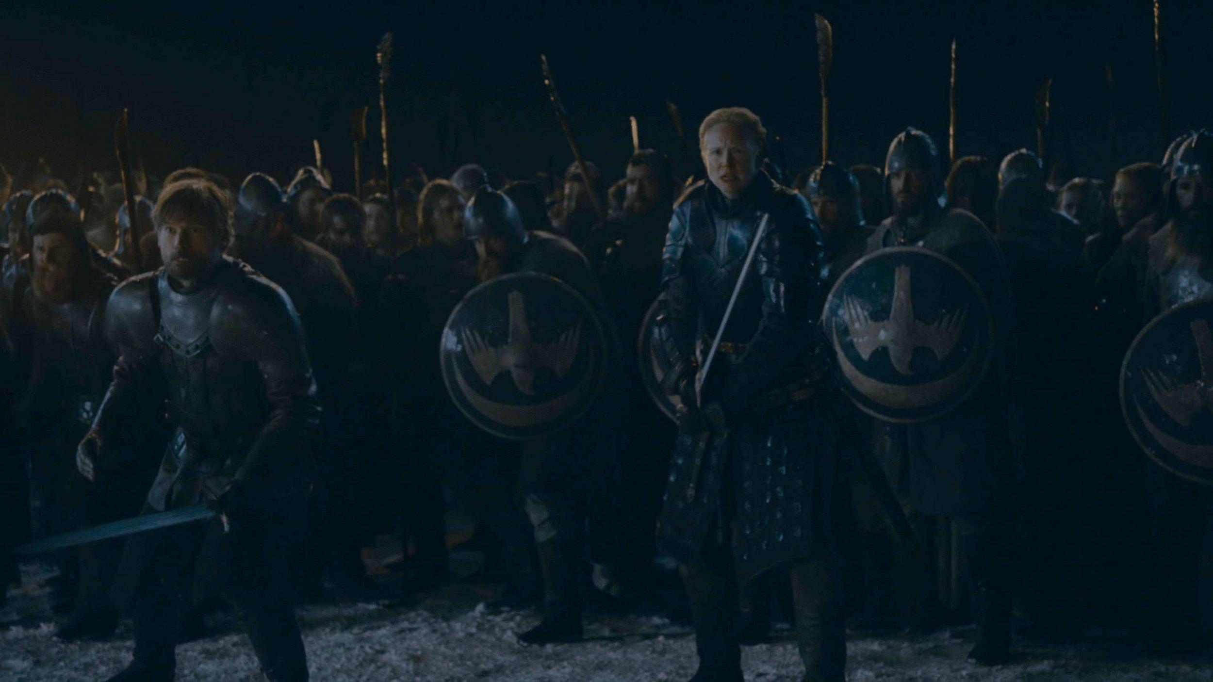 game of thrones battle of winterfell too dark