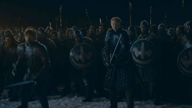 game of thrones battle of winterfell too dark