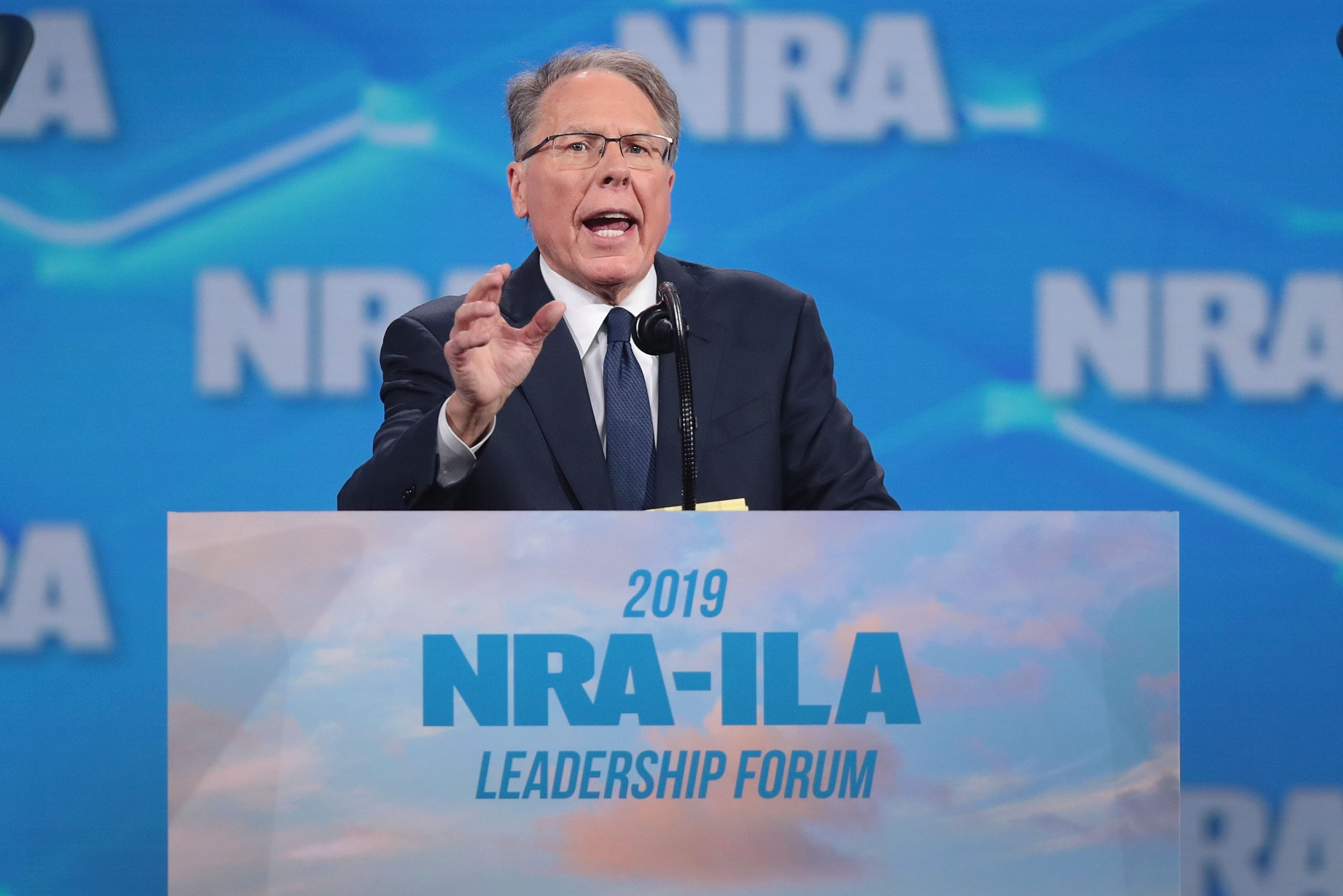 Trump Says New York Wants to Illegally Take Down the NRA