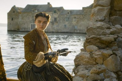 arya hbo game of thrones