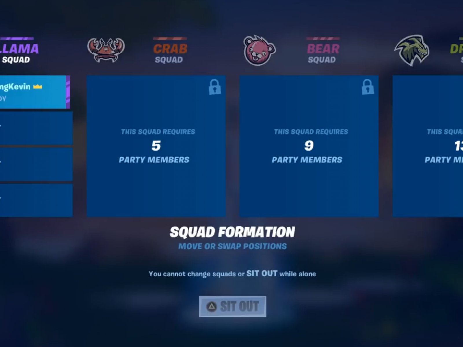 Fortnite' Large Party Features Allow 16-Player Squads in