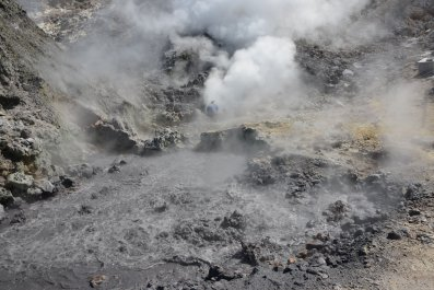 Campi Flegrei, Supervolcano, Italy, Geology