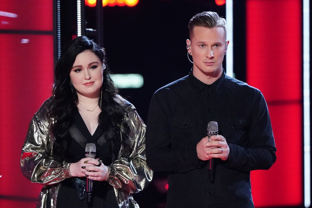 Voice, 2019, results, recap, top, 13, who, saved, eliminated, tonight, last, night, comeback, stage, season 16, episode, 17, apple, music, bonus, winner, itunes, most, votes, teams Gyth Rigdon Maelyn Jarmon