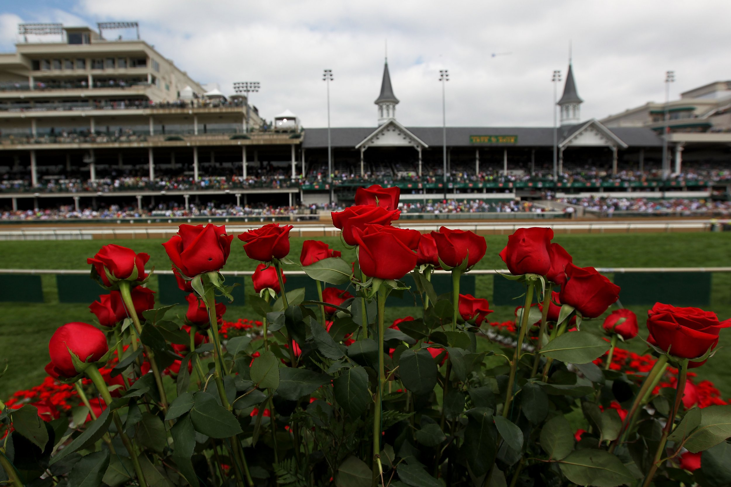 Kentucky Derby favorite Omaha Beach ruled out with throat condition