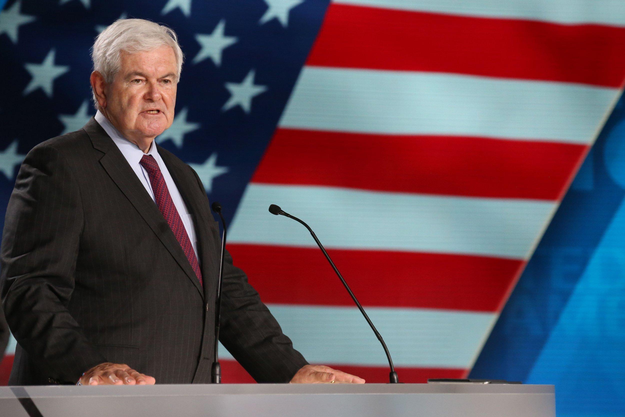 Newt Gingrich Fox News deep state