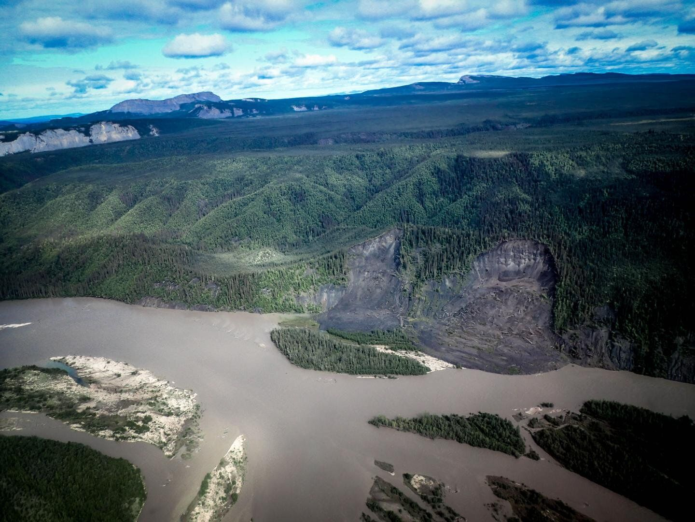 Arctic, permafrost thaw, landslide