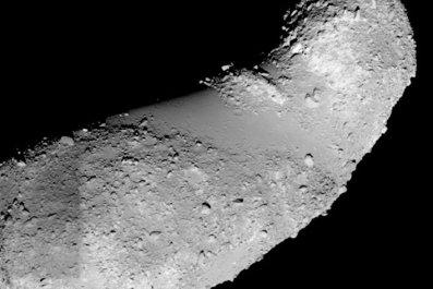 Itokawa asteroid
