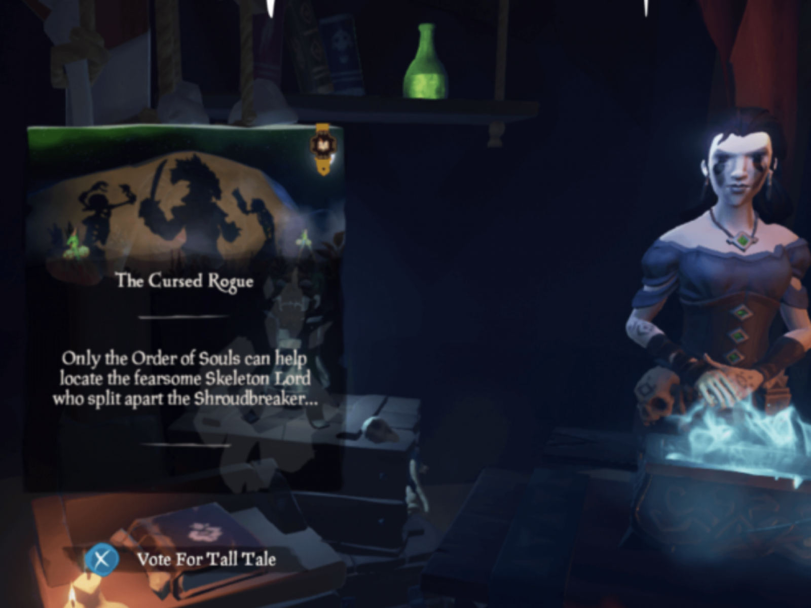 Sea of Thieves' Cursed Rogue Tall Tale Guide: How to Find