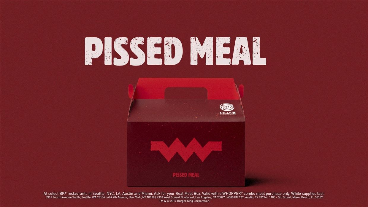 Burger, king, unhappy, meals, real, pissed, dgaf, meaning, yaaas, mental, health, awareness, month, may