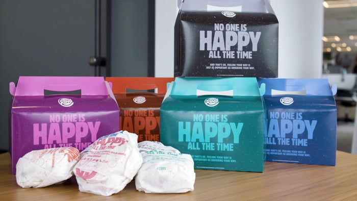 Burger king unhappy meals real pissed dgaf meaning yaaas mental health awareness month may